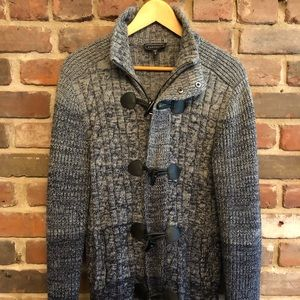 Men's Express Blue Cardigan/Jacket - Medium
